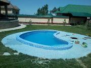 Строительство,  отделка,  реконструкция бассейнов и фонтанов