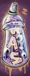 граффити оформление трафареты картины