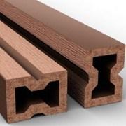 Лага из древесно-полимерного композита