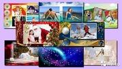 Слайдшоу,  видеофильм из Вших фотографий и видео