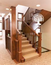 Изготавливаем двери,  лестницы,  беседки