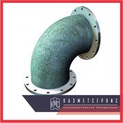 Колено фланцевое УФ100-600 ГОСТ 5525–88